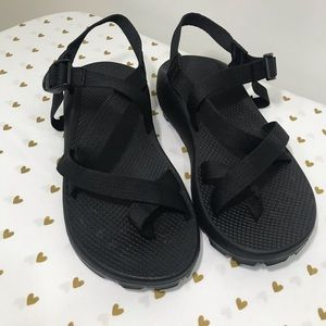 Chaco Black Men's Vibram Unaweep Sandals - 10